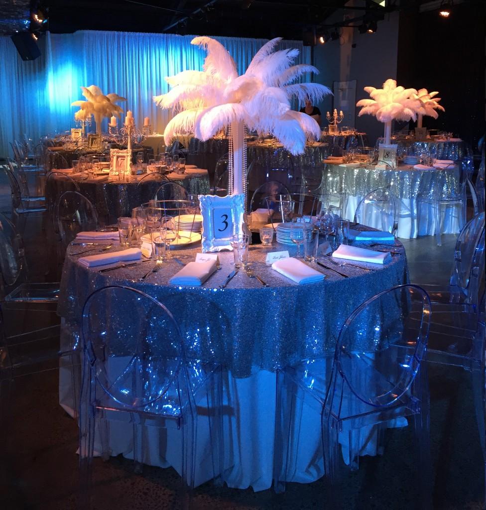 ostrich feather weddings of distinction. Black Bedroom Furniture Sets. Home Design Ideas